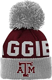 NCAA Youth Outerstuff Cuffed Knit Hat with Pom