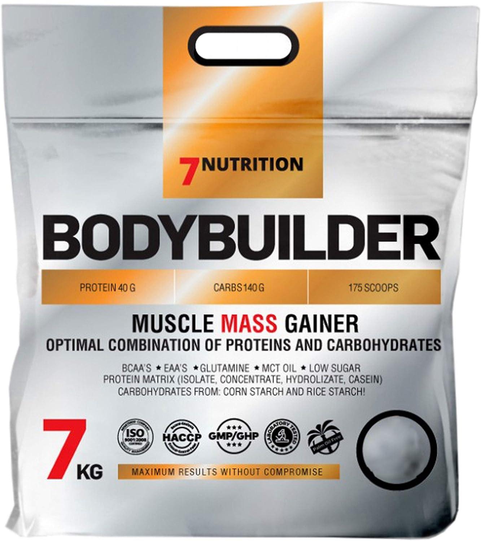 7Nutrition Bodybuilder Paquete de 1 x 7000g – Whey Protein Mass - Ganador de Masa Proteica - Concentrado, Aislado e Hidrolizado de Proteína de Suero - ...