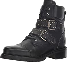 FRYE Women's Samantha Stud Belted Hiker Hiking Boot