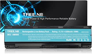 Tree.NB 6-Cell High Performance Laptop Battery for Toshiba PA5024U-1BRS PA5023U-1BRS PA5025U1BRS PA5026U-1BRS PA5027U-1BRS, PABAS259 C55 C800 C845 C855 L835 L850, UPGRADED Cells Li-ion Battery Packs