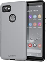 Google Pixel 2 XL Case, Crave Dual Guard Protection Series Case for Google Pixel 2 XL - Slate