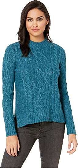 Lofted Fuzzy Knit Sweater KSDK5923