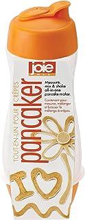 MSC International 50993 Joie Pancaker Squeeze Bottle Pancake Batter Mixer and Dispenser, 5.5-Ounce Capacity, Orange
