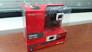 Microsoft LifeCam HD-5001 - Web camera - color - Hi-Speed USB