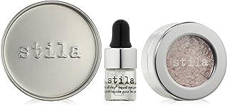 Stila Magnificent Metals Foil Finish Eye Shadow with Liquid Eye Primer, Dusty Rose 2g/2ml