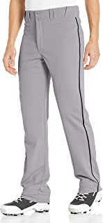 EASTON RIVAL 2 Baseball Softball Piped Pant | Adult | Piped | 2020 | Double Reinforced Knee | Elastic Waistband w/ 2 Color Internal Easton Logo | 2 Batting Glove Pockets | 100% Polyester
