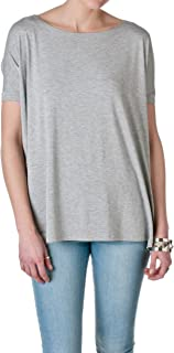 Women's Short Sleeve Loose Fit Bamboo Top