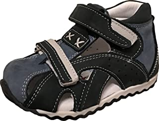 3cc5ddfb7a PERLINA Boys Shoes Sivas 1103-2 Turkish Orthopedic Leather Summer Sandals  with Arch Support