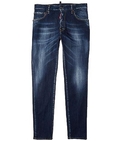 DSQUARED2 Simple Dark Wash Sexy Mercury Jeans in Blue (Blue) Men