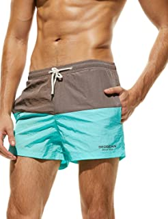 SEOBEAN Mens Low Rise Sports Short Swimwear Board Shorts