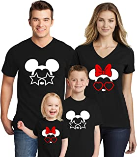 Family Trip Mickey Minnie Mouse Magic Kingdom Matching Shirts