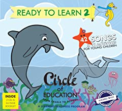 Cradle to School: 42 Songs on 2 CD's + Lyrics + 12 Activities. Songs focused on Social, Emotional, Cognitive, Health and R...