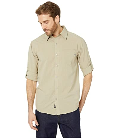 Marmot Aerobora Long Sleeve Shirt (Light Khaki) Men