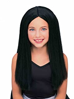 childrens black wig