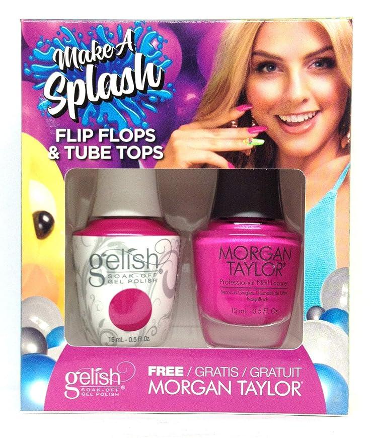 汚染座る流用するHarmony Gelish - Two of a Kind - Make a Splash 2018 Collection - Flip Flops & Tube Tops