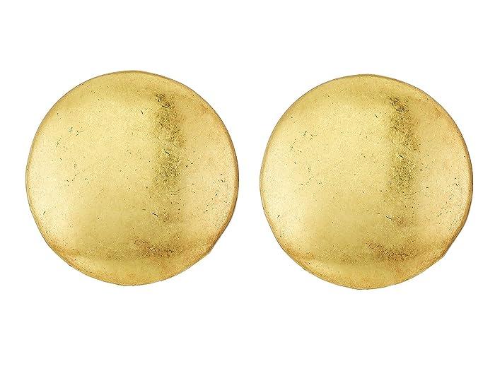 Lucky Brand  Dangle Beads Post Earrings (Gold) Earring
