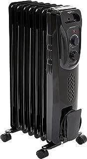 AmazonBasics Portable Radiator Heater, Black