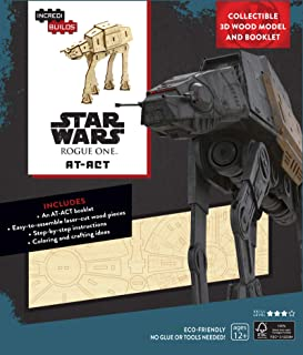 Insight Editions Incredibuilds Star Wars at ACT 3D Wood Model and Book
