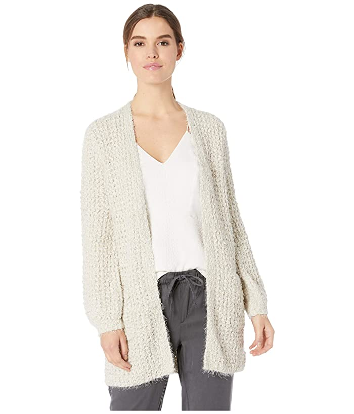 BB Dakota  Ive Been Busy Eyelash Cardigan (Oatmeal) Womens Sweater