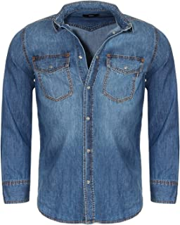 Herenhemd Décontracté Chemise Shirt Manches Longues Basic Classic Hommes Bolf 2b2 Casual