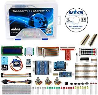 OSOYOO DIY Basic Starter Learning Kit for Raspberry Pi 3 3B+ Zero W Updated for Beginners with Tutorial