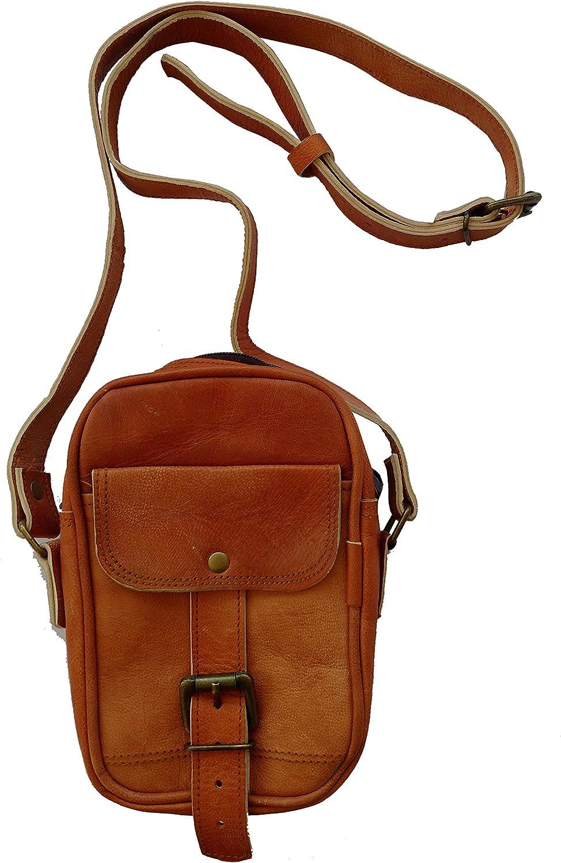 Goat Leather Ladies Sling Bag for Travelling Cross Body Shoulder Bag, Height 8  Inch
