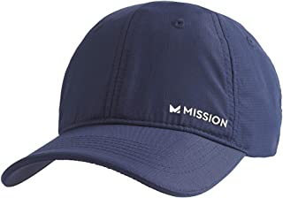 MISSION Cooling Performance Hat- Unisex Baseball Cap, Cools When Wet