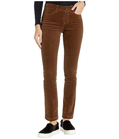 Jag Jeans Ruby Straight Corduroy Pants (Walnut) Women