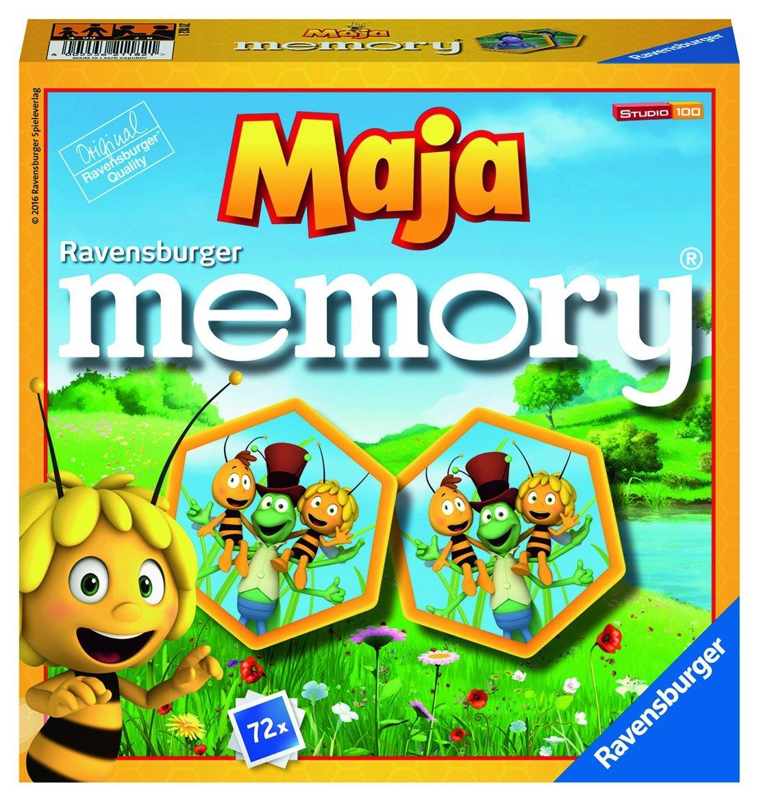 Ravensburger Abeja Maya - Memory, Juego de Mesa 211821: Amazon.es: Juguetes y juegos