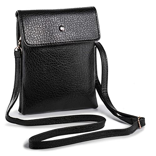 0d3ecb7933 Hengying Mini Cross Body Phone Bag Universal Mobile Phone Bag Wallet Pouch  Purse PU Leather Girls