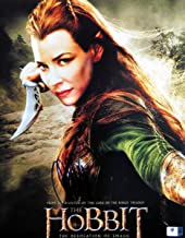 Evangeline Lilly Signed Autographed 11X14 Photo The Hobbit Movie Poster GV806089