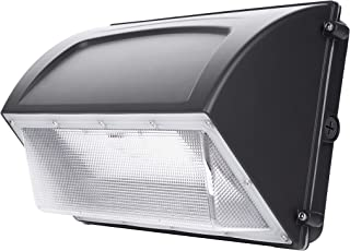 Hyperikon LED Wall Pack, 60W (HPS HID Replacement), Commercial and Industrial Outdoor Lighting, 5000K, IP65, DLC, Waterproof
