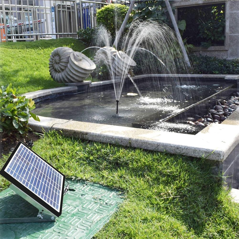 prokth Solar fuentes, con 4 diseños diferentes de boquillas, Solar Bomba Estanque con 1.5 W monokris