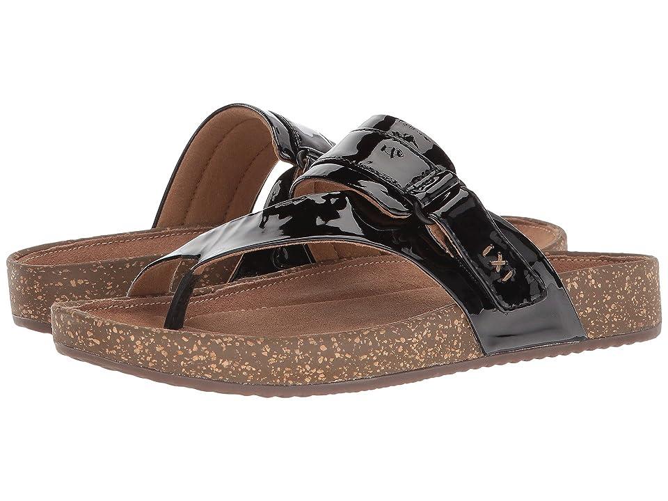 Clarks Rosilla Durham (Black Patent Leather) Women's Shoes