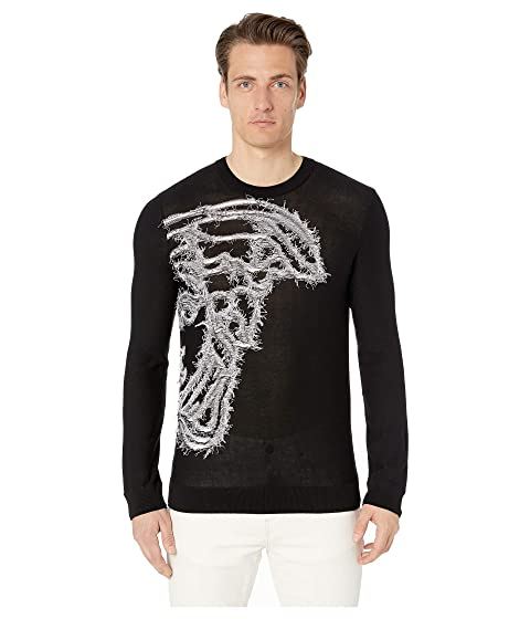 Versace Collection Reverse Weave Sweater