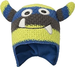 Monster Stripe Kids Winter Hat - Fleece Lined