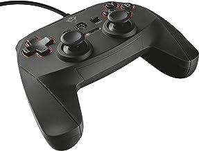 Trust GXT 540 Gamepad Cablato per PC e PS 3, Nero
