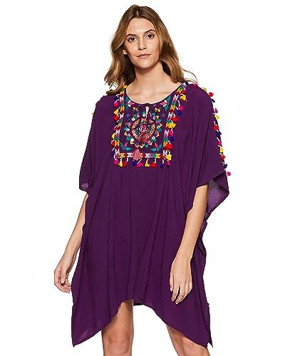 Beach Dress with Sleeves: Amazon.com