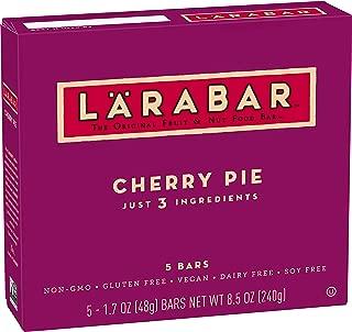 Larabar, Fruit & Nut Bar, Cherry Pie, Gluten Free, Vegan (5 Bars)