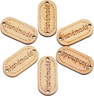 wooden tags for crochet