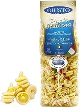 Giusto Sapore Italian Pasta - Vesuviotti 454g - Premium Organic Bronze Drawn Durum Wheat Semolina Gourmet Pasta Brand - Imported from Italy and Family Owned