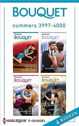 Bouquet e-bundel nummers 3997 - 4000