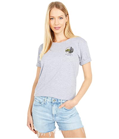 Burton Ashmore Short Sleeve Scoop T-Shirt (Gray Heather) Women