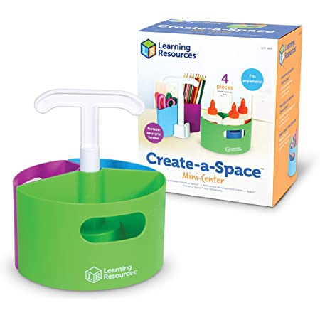 Mini centre de rangement Create-a-Space de Learning Resources, LER3810