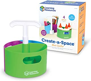 Learning Resources Create-a-Space Storage Mini Center, Classroom Craft Keeper, Maker Space, Small Space Storage, Teacher O...