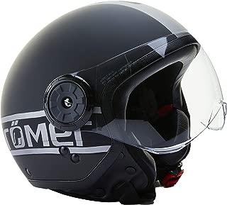 R/ömer Helmets Motorradhelm Fight Gr/ö/ße M Matt Schwarz//Silber