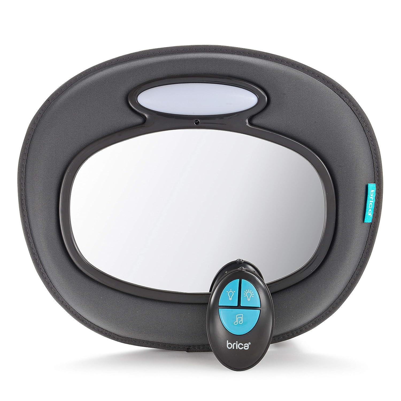 Munchkin Brica Night Light Musical Baby In-Sight Car Mirror