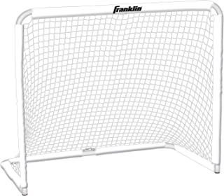 Franklin Sports Steel Goal - All Sport Soccer,  Lacrosse Field Hockey and Street Hockey Goal - 50x42 Youth Goal and Net - Backyard Goal