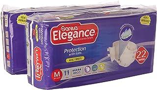 Sanita Elegance Adult Diapers - M Jumbo, 44 Pcs
