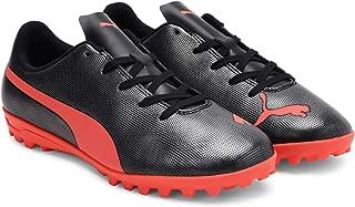 Puma Unisex's Rapido Tt Jr Black-nrgy Red Ag Football Shoe